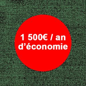 1500 d'éco
